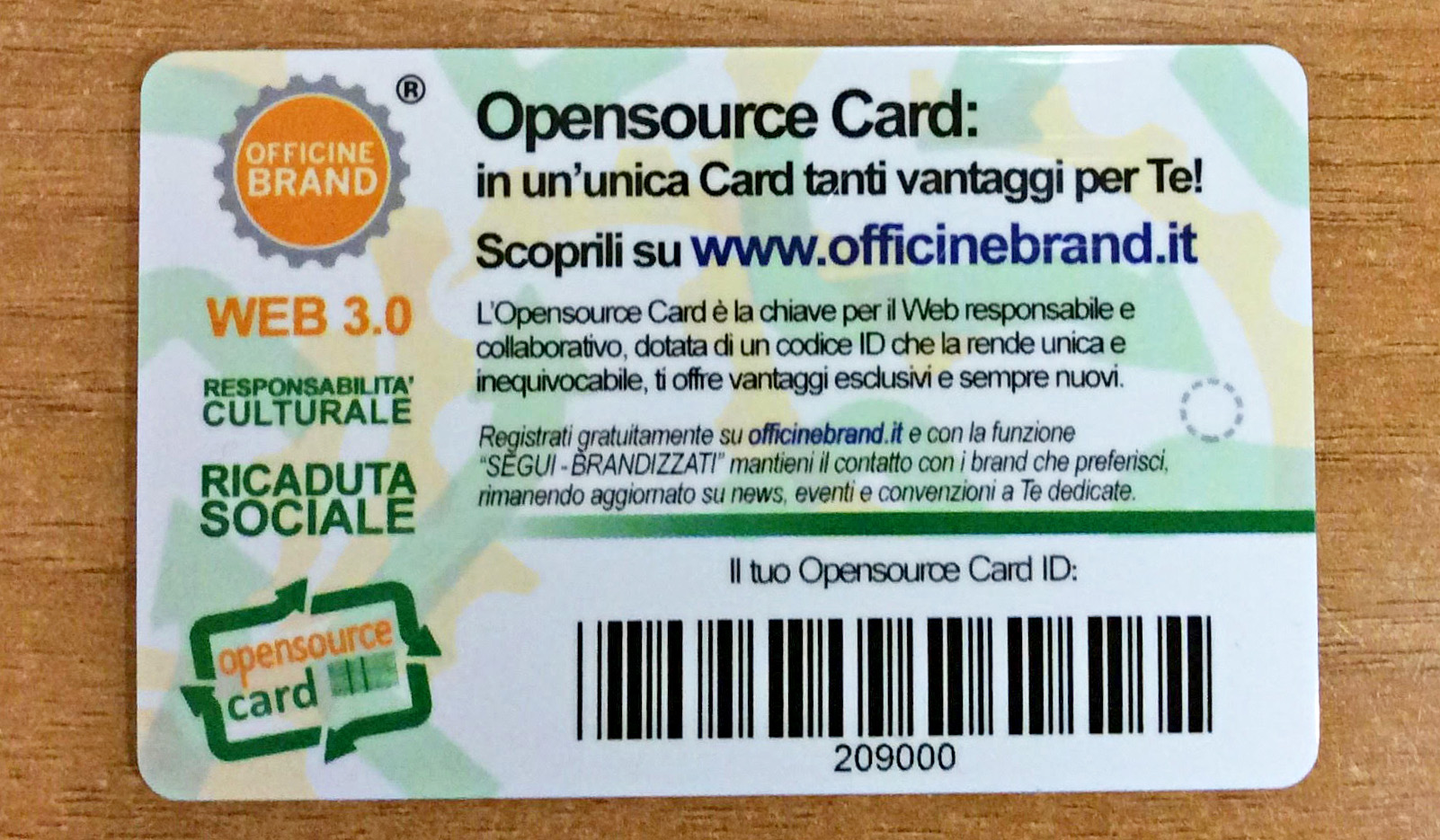 OpenSourceCard Varie