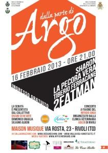 Serata Benefica a Favore di Rifugio Argo - Valdellatorre