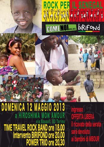Rock per il Senegal
