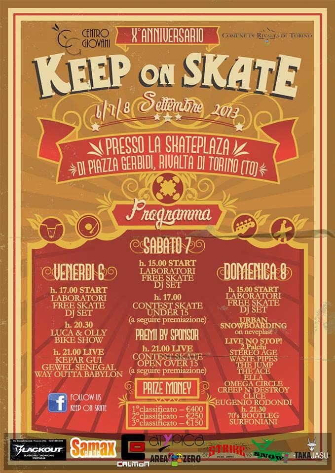 Keep on Skate Sabato 7