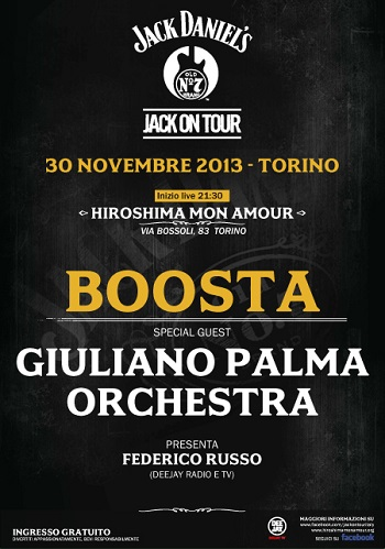 Jack on Tour Boosta e Giuliano Palma Torino