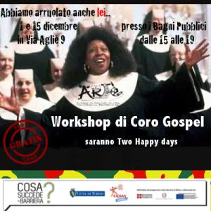 Crad coro gospel