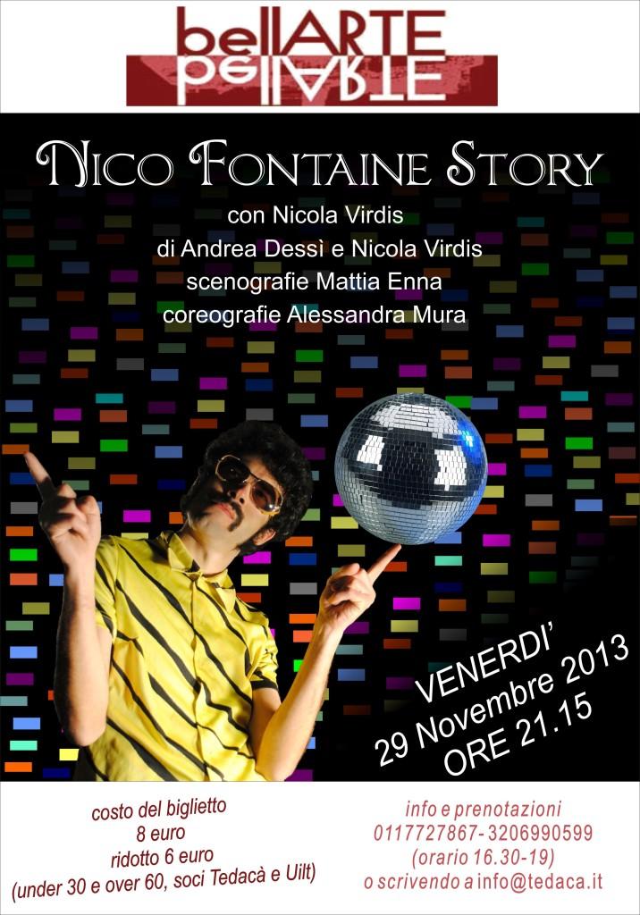 Nico Fontaine 29 novembre Torino