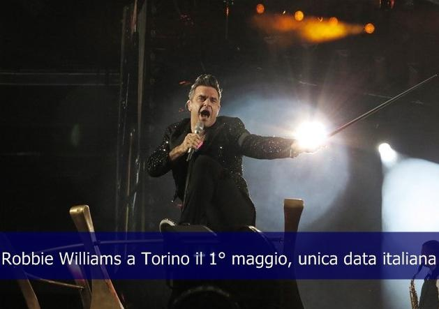 Robbie Williams a Torino