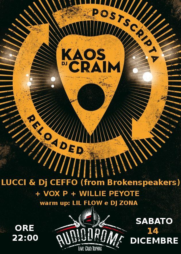 Kaos e DJ CRAIM