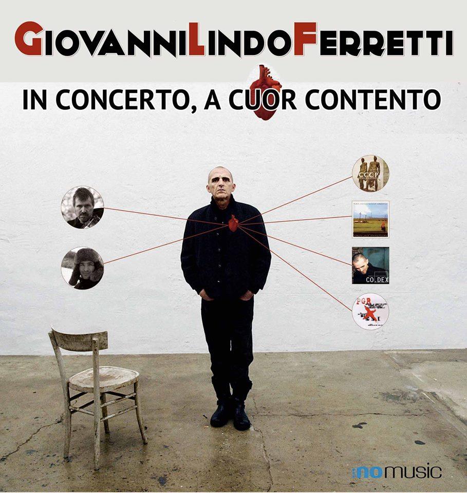 Giovanni Lindo Ferretti  in concerto a Torino