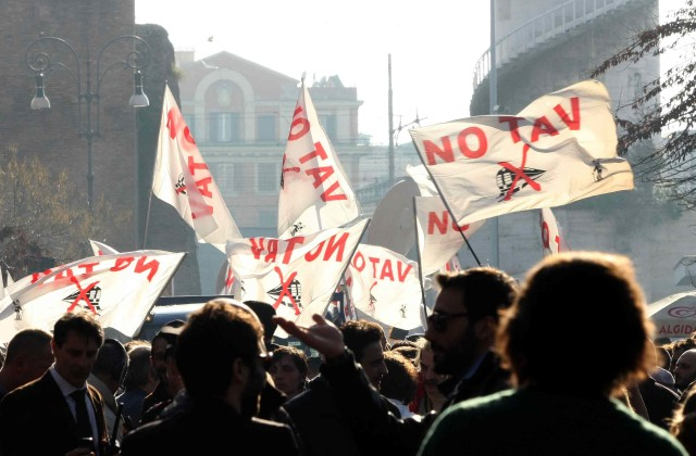 NO TAV: CORTEO A ROMA