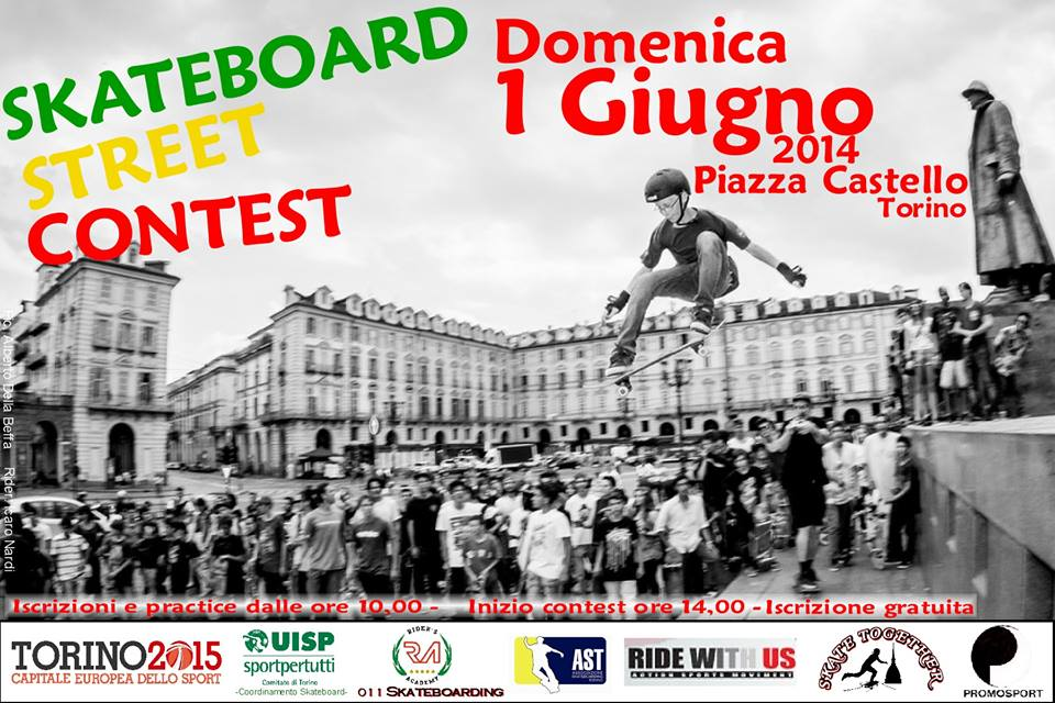 Skate Torino 1 Giugno 2014