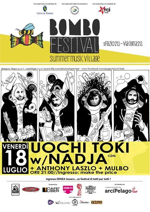Bombo Festival 18 Luglio