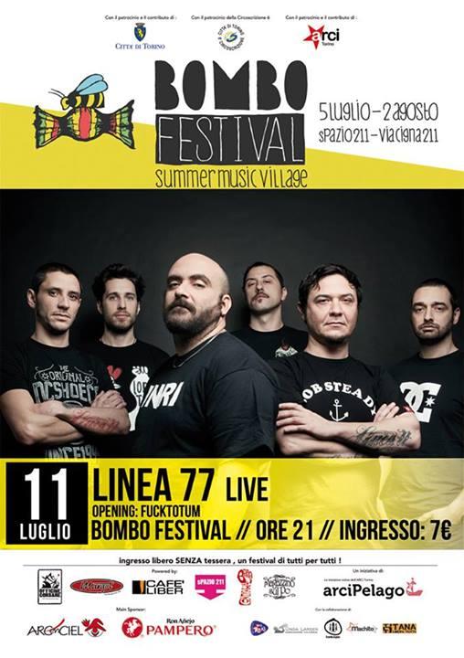 Linea77 al Bombo Festival di Torino