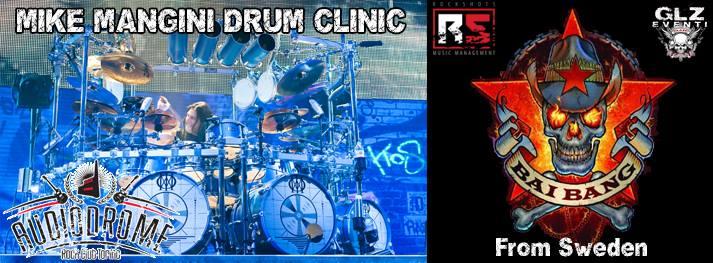 Mike Mangini Drum Clinic