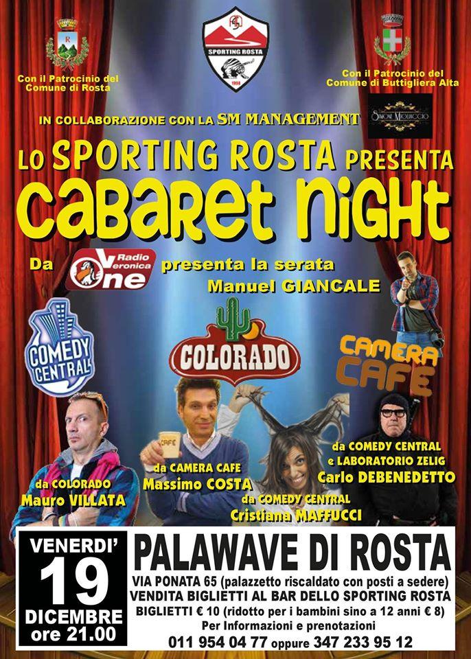 Cabaret Night Rosta