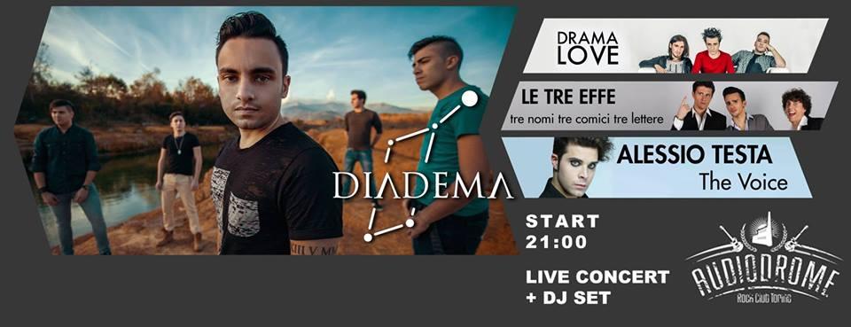Diadema Live a Moncalieri
