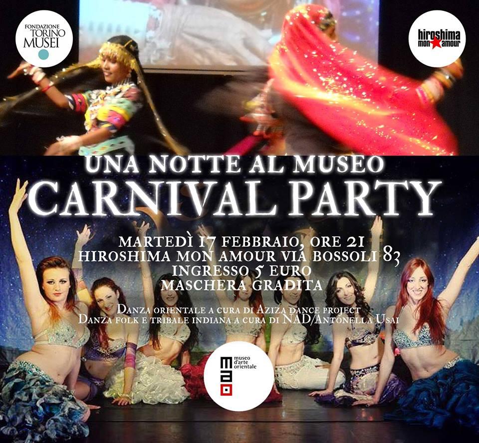 UNA NOTTE AL MUSEO  CARNIVAL PARTY @ HIROSHIMA MON AMOUR