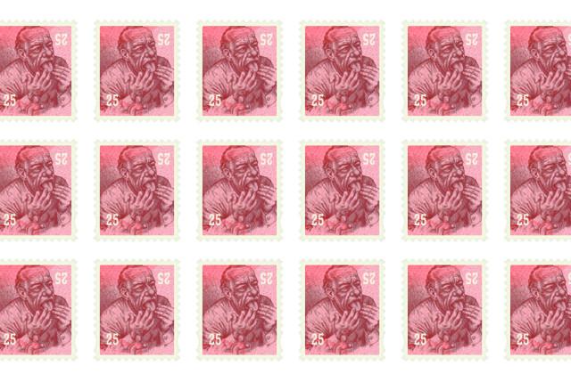 bukowski francobolli
