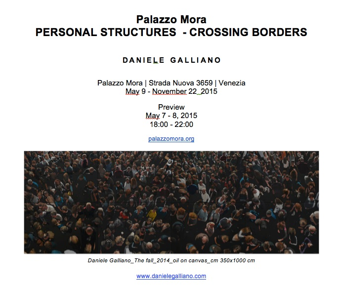 Fwd: DANIELE GALLIANO PERSONAL STRUCTURES PREVIEW MAY 7-8 VENICE
