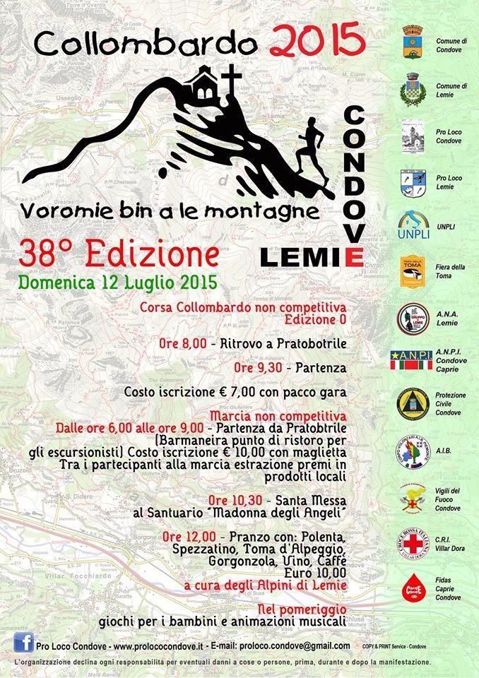 38° edizione dell'annuale appuntamento al Collombardo.