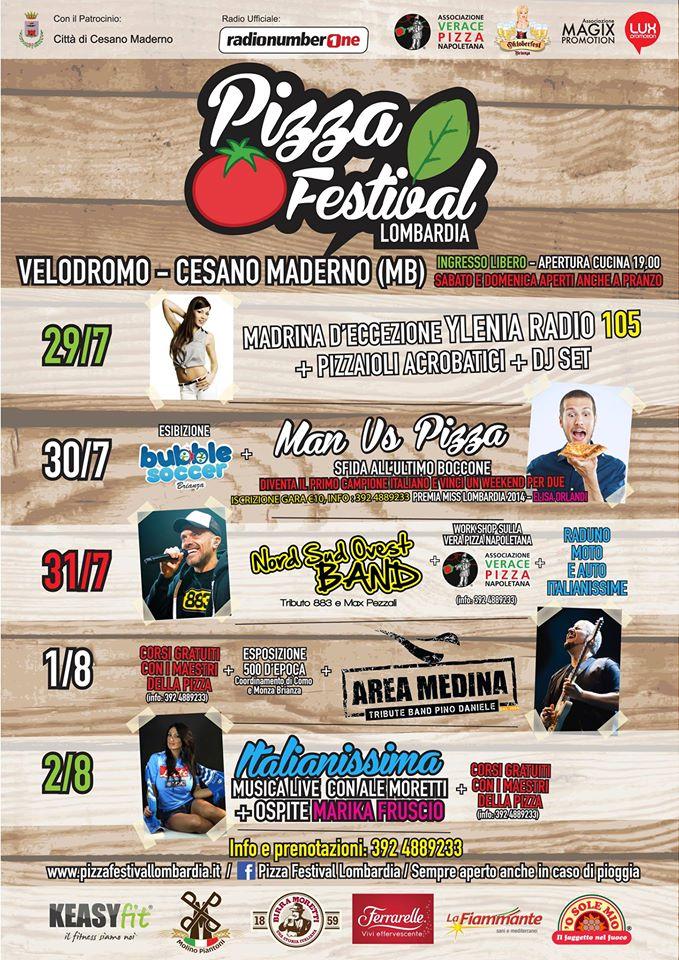 pizza festival programma