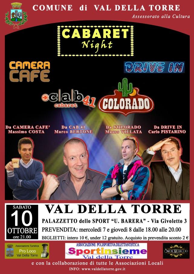 Cabaret Night ottobre