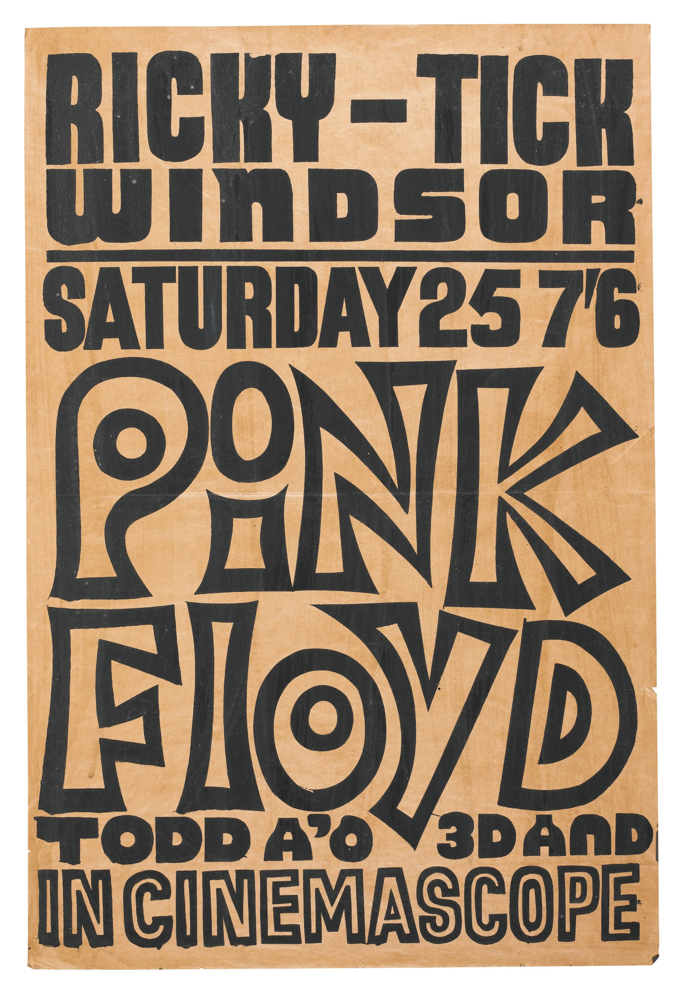 pink floyd at the rick tick