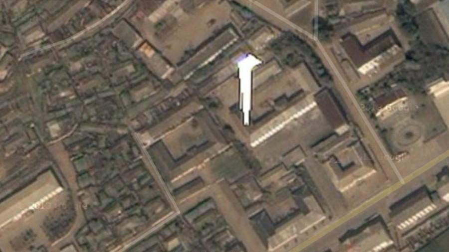 7 - Una misteriosa macchia bianca tra le citta` di Koksan e Sepo, in Corea del Nord_MGzoom