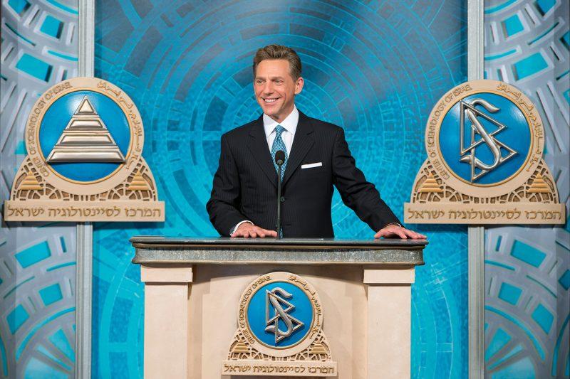 Il leader di Scientology: David Miscavige