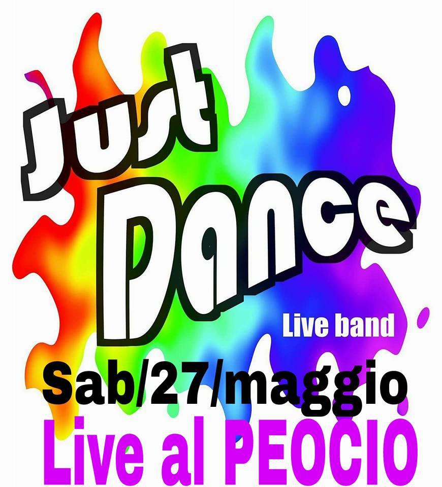 Just Dance in concerto a Il Peocio di Trofarello (TO)