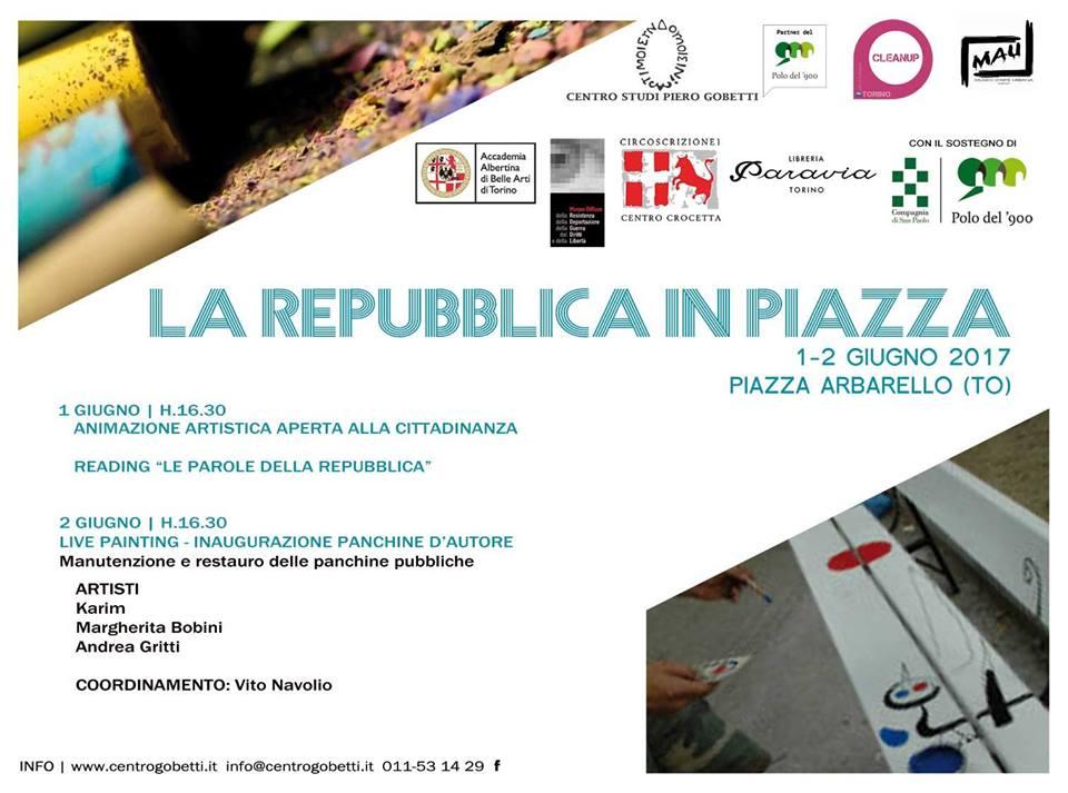 La Repubblica in Piazza