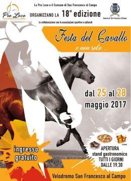 SAN FRANC AL CAMPO festa cavallo