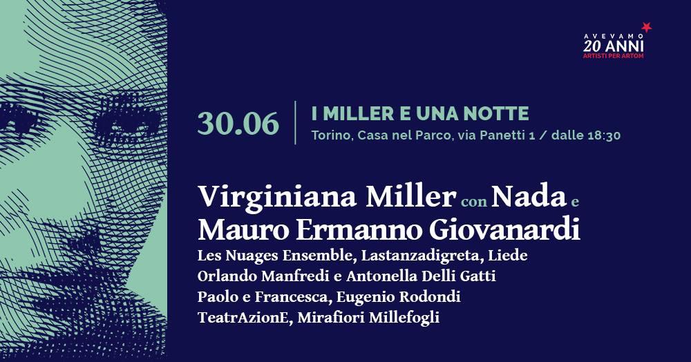 Virginiana Miller, Nada, Giovanardi. I Miller e una Notte