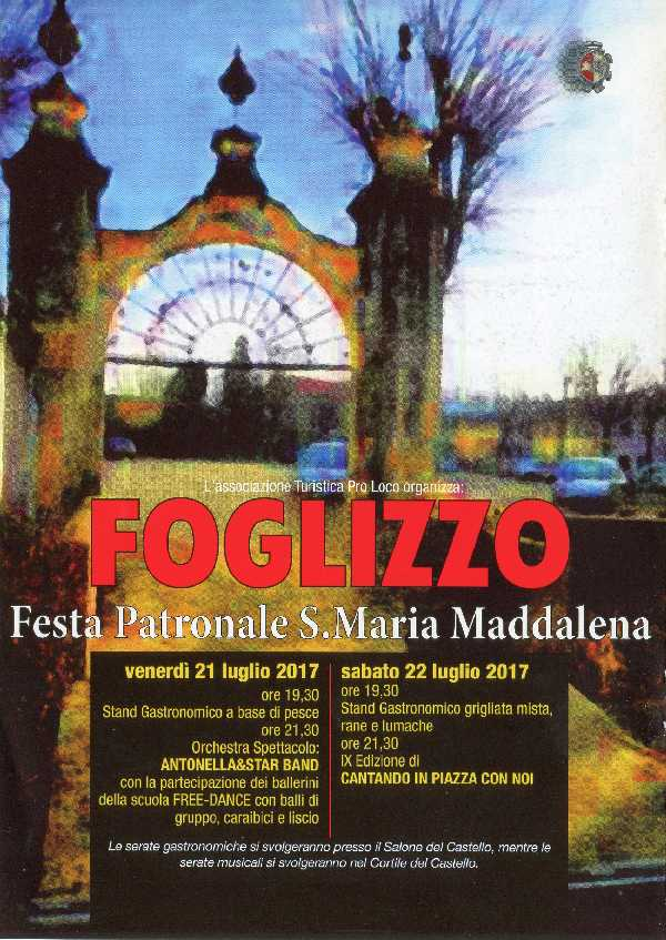FOGLIZZO PAGTRONALE