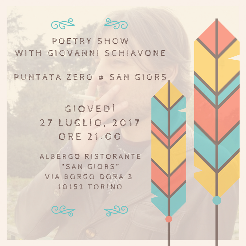 Poetry Show With Giovanni Schiavone