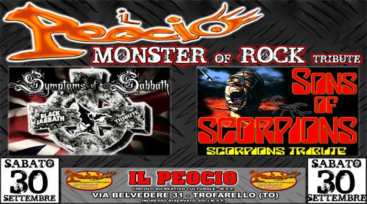 Il Peocio Monster of Rock tribute
