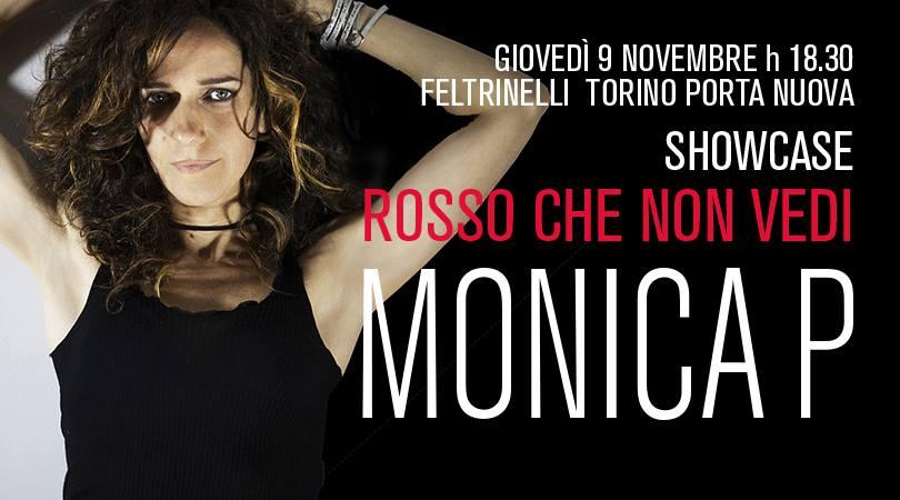 Monica P showcase in Feltrinelli Torino stazione Porta Nuova