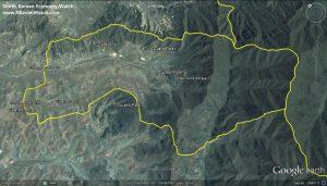 Il Campo 14 visto da Google Maps