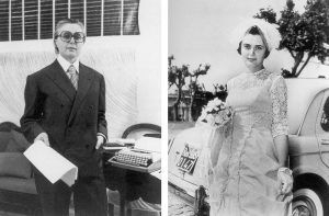 Tomaso Binga e Bianca Menna oggi spose (1977)