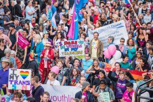 TransFreedom March a Toronto, in Canada