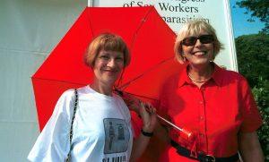 Pia Covre e Carla Corso, fondatrici del Comitato per i Diritti Civili delle Prostitute in Italia
