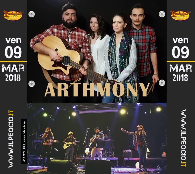Arthmony - Dal Belgio live on-stage a il Peocio