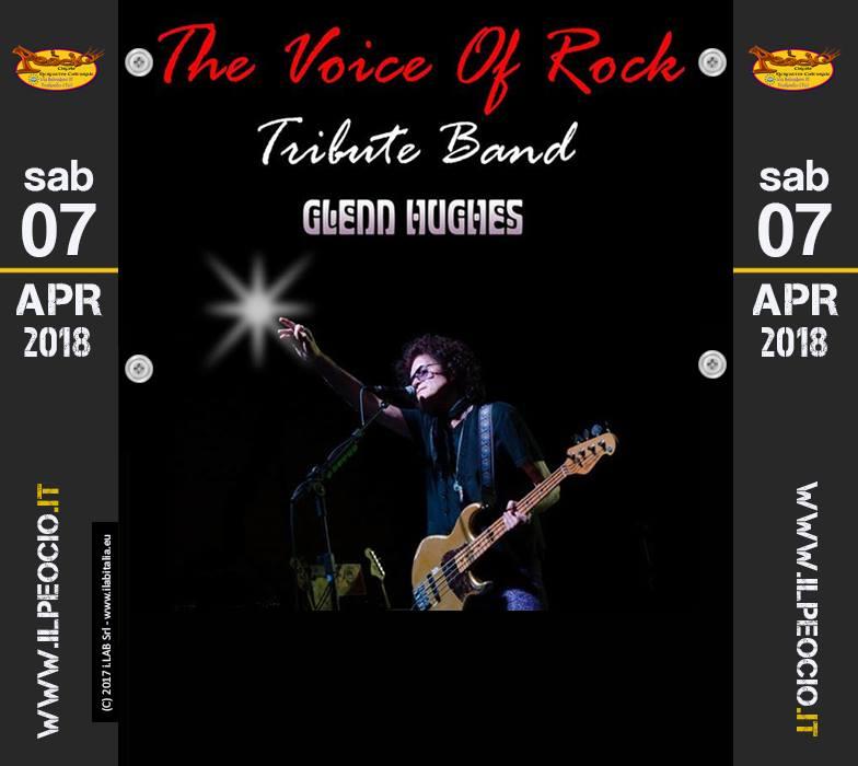 Glenn Hughes Tribute a Trofarello - Torino