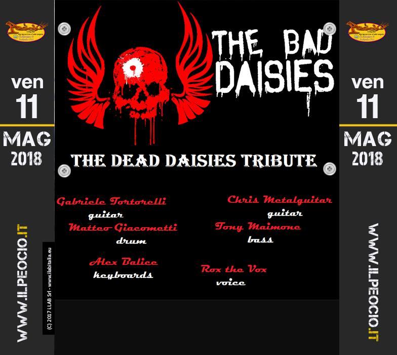 Bad Daisies live a il Peocio Tributo Dead Daisies