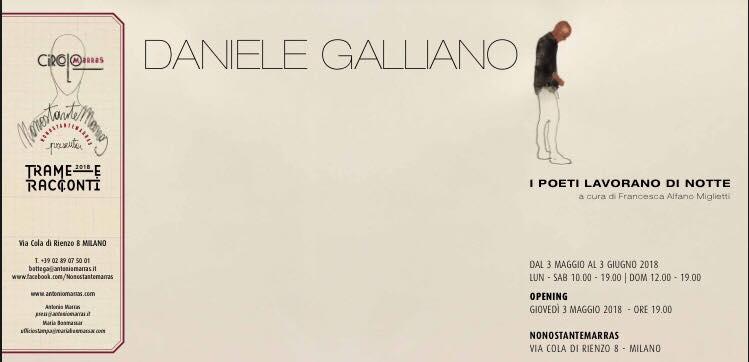 DANIELE GALLIANO - I Poeti lavorano di Notte -