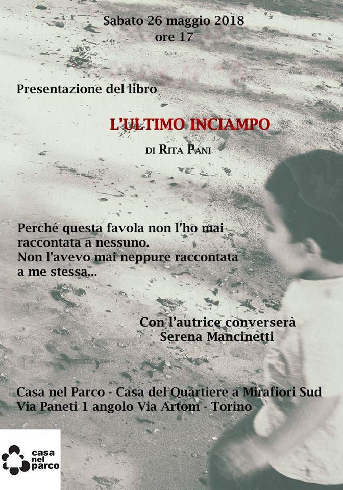 Presentazione del libro L'ultimo inciampo di Rita Pani