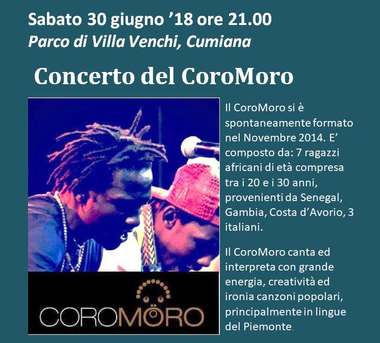 CONCERTO DEL COROMORO