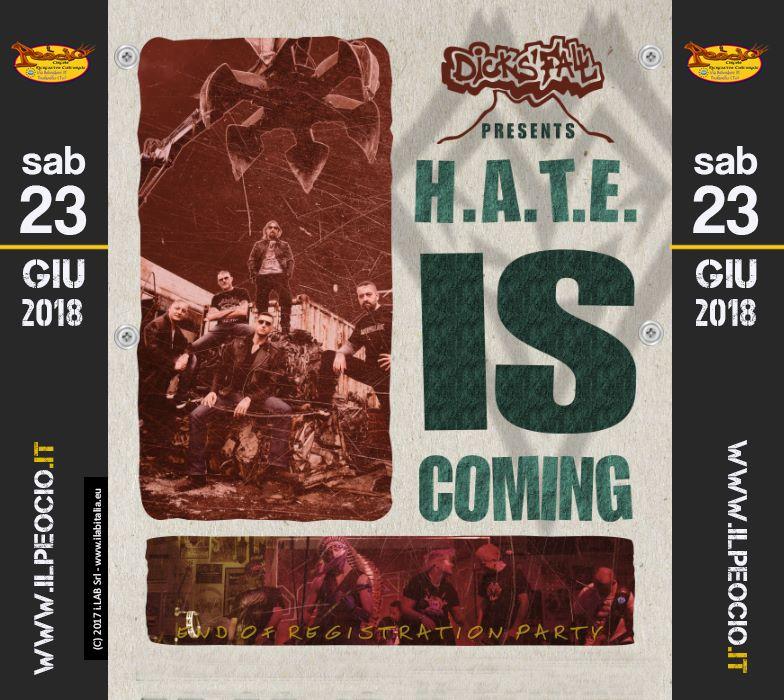 Dicks' Fall - Hate si coming