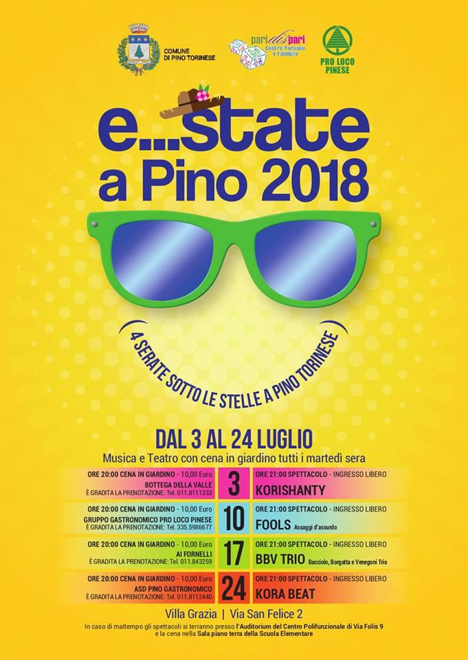 Estate a Pino 2018