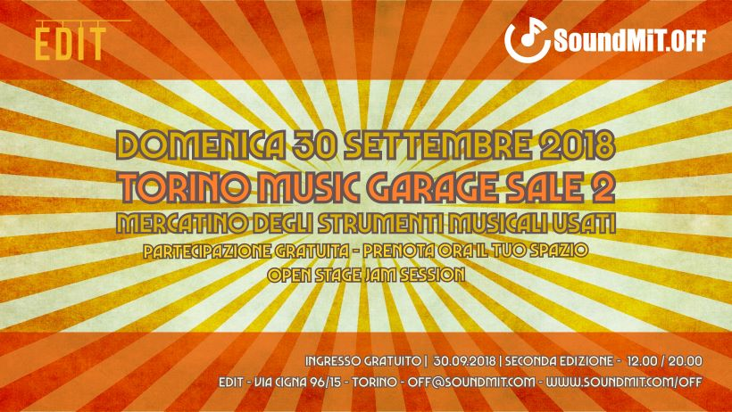 Music Garage Sale - Seconda edizione