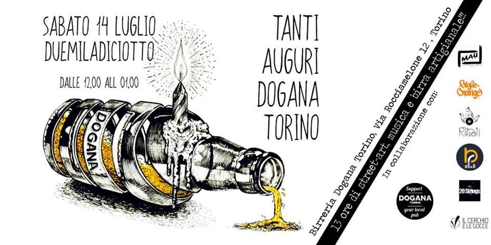 Tanti Auguri Dogana Torino !