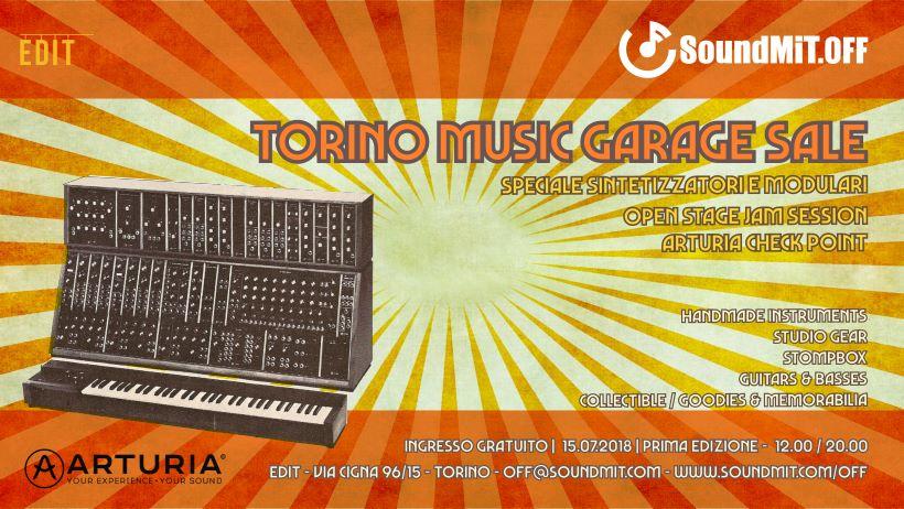 Torino Music Garage Sale - Ingresso Gratuito